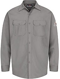 Bulwark Flame Resistant Excel-FR™ Button Front Work Shirt